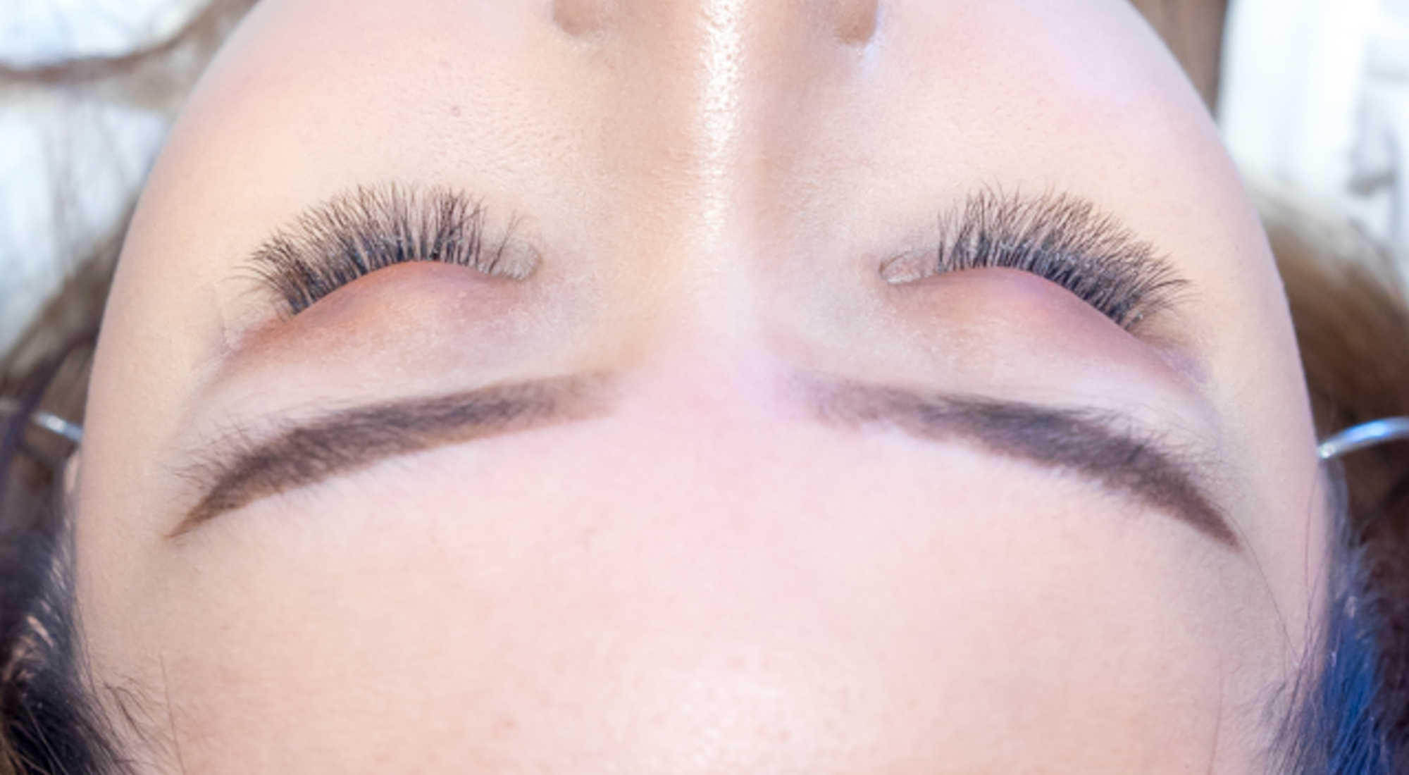 Before and After Lash Extension at Allumer Japanese Beauty