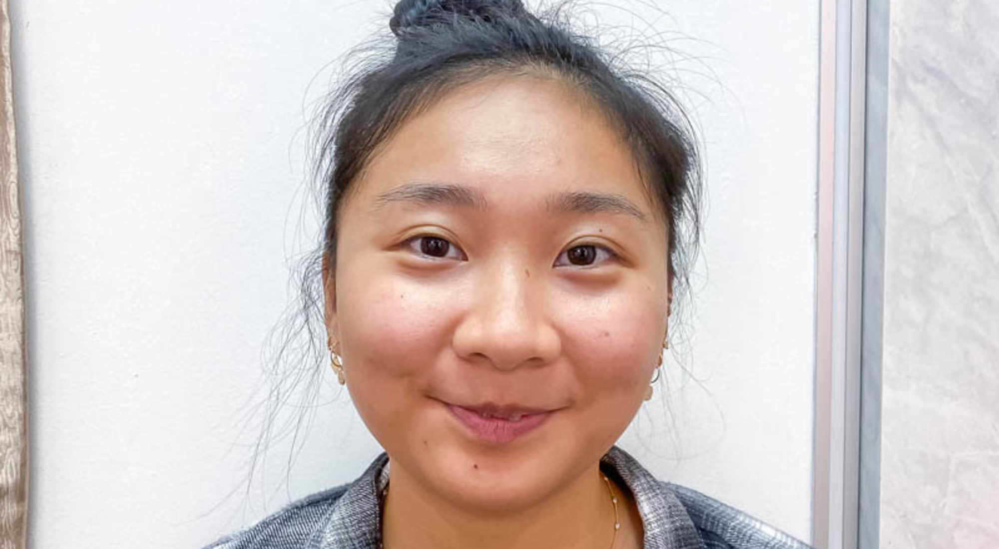 Brightened and Glowing Face After 24K Gold Facial Treatment at Apple Queen Beauty