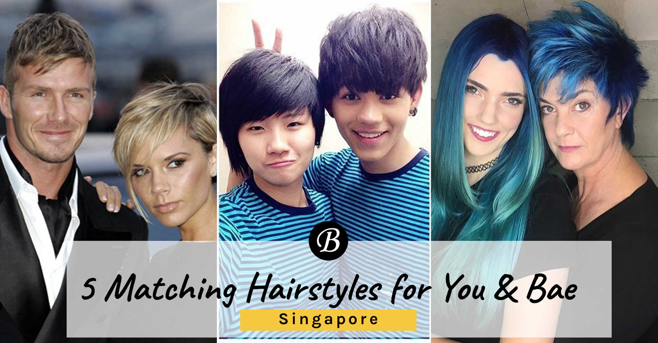 Matching Couple Hairstyle