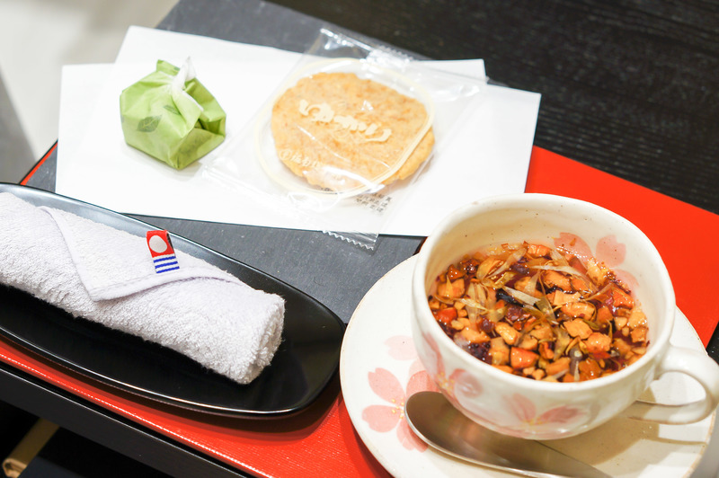 Japanese snacks and beverages at Branche