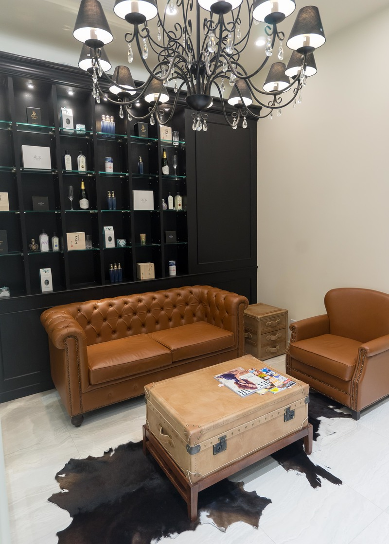 Waiting area for Branche