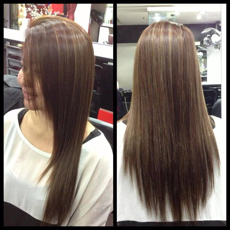 Two Toned Hair Colour