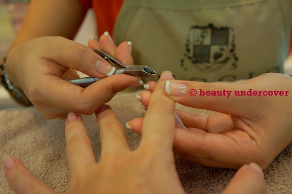 Removing cuticle