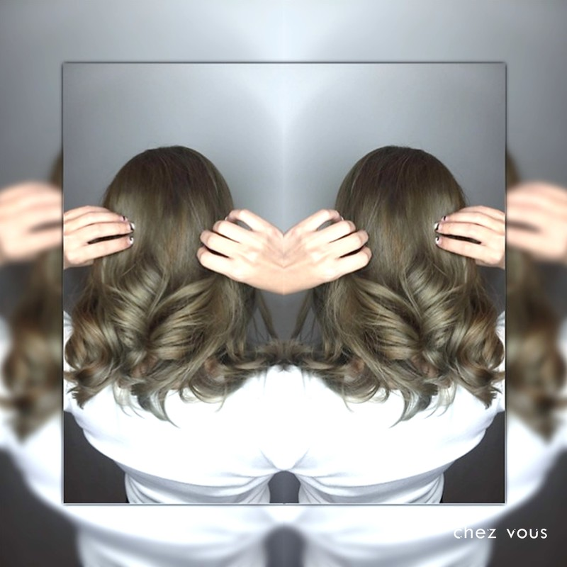 Done by Associate Salon Director of Chez Vous Shawn Chia Design Melted Olive Ash X Pearl Ash Grey Balayage