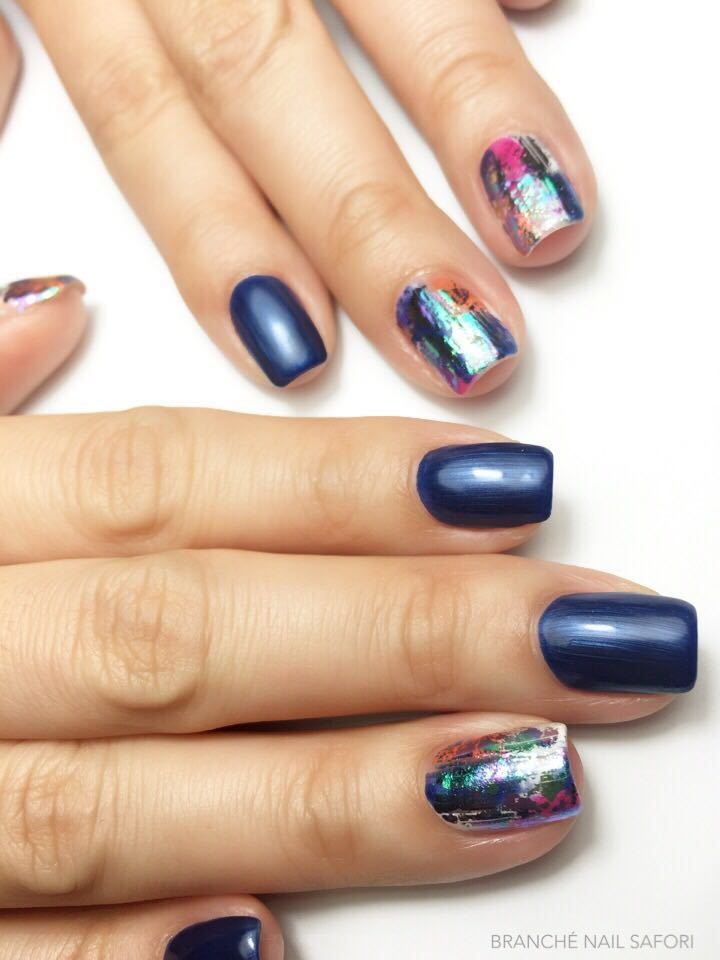 Holographic Nail Art by Branche Nail Salon @ Capitol Piazza