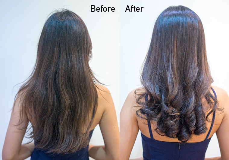 before and after back view