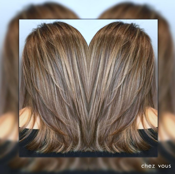 Melted Balayage with Babylights by Chez Vous Hair Salon @ Ngee Ann City Takashimaya