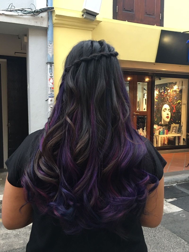 Oil Slick Hair Colour by Picasso Hair Studio