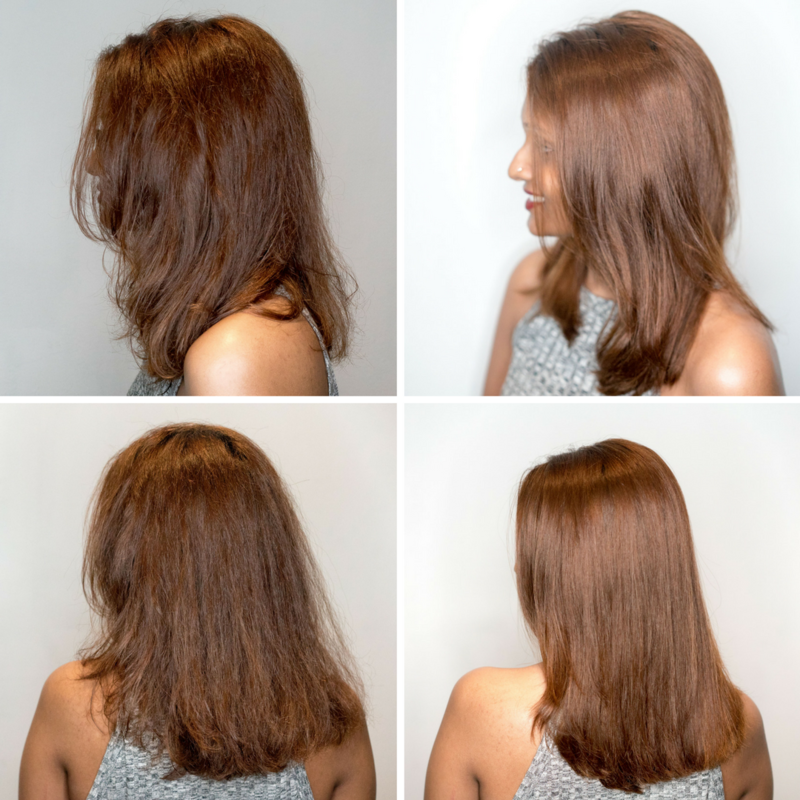 Hair Botox for Frizzy Hair by Chez Vous
