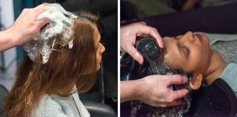 Hair Wash and Dry at Chez Vous Hair Salon