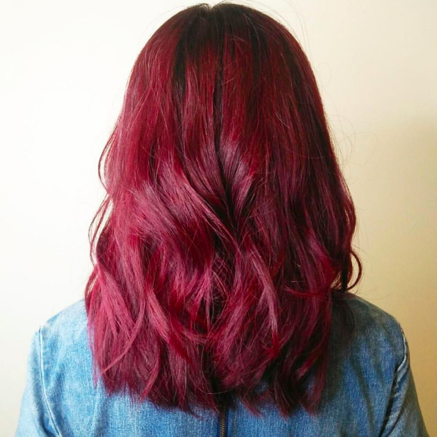 Red Hair Beach Wave by Art Noise