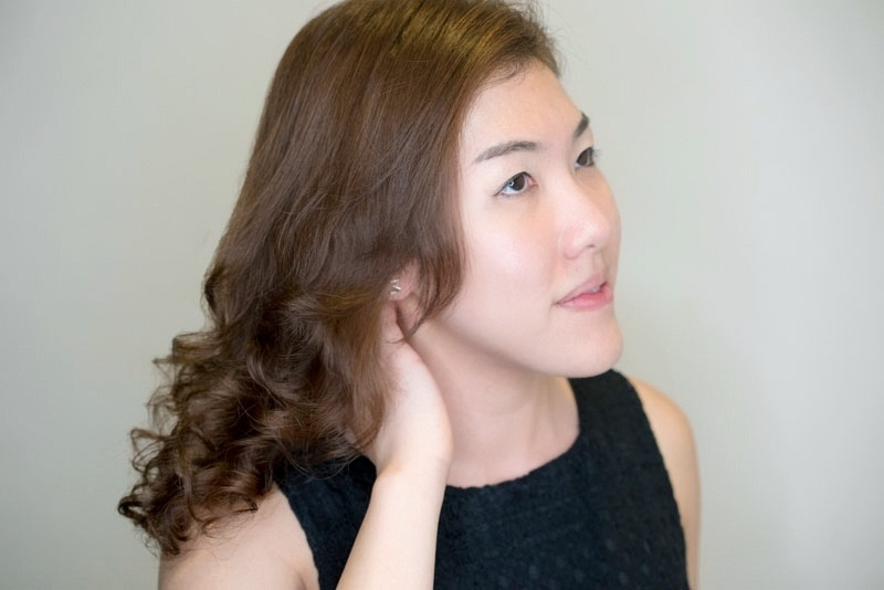 Luscious and Voluminous Smooth Hair After Perm at Picasso Hair Studio