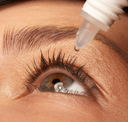 Dry Eyes not suitable for lash extension