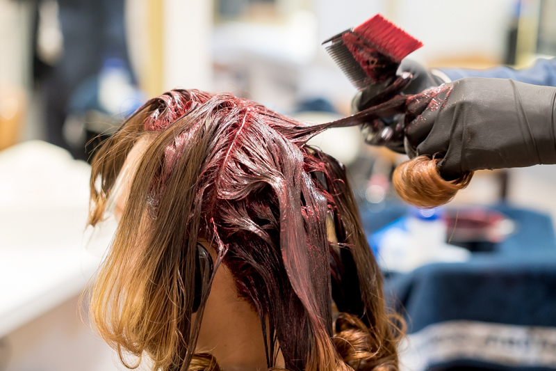 Application of Hair Colour at The Urban Aesthetics