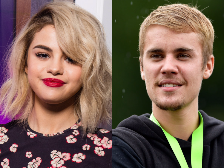 Couple Hairstyle Justin Bieber and Selena Gomez