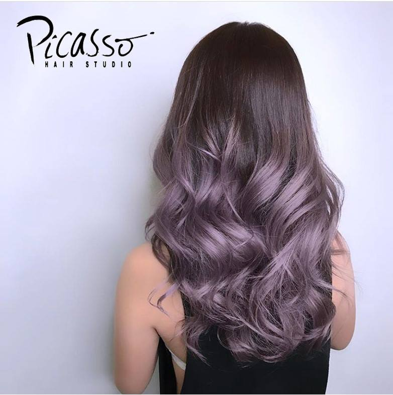 Purple Highlights by Picasso