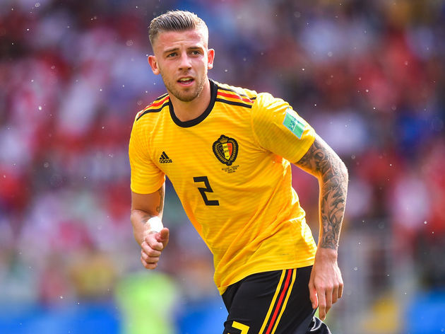 Toby Alderweireld's Pompadour with Fade Haircut