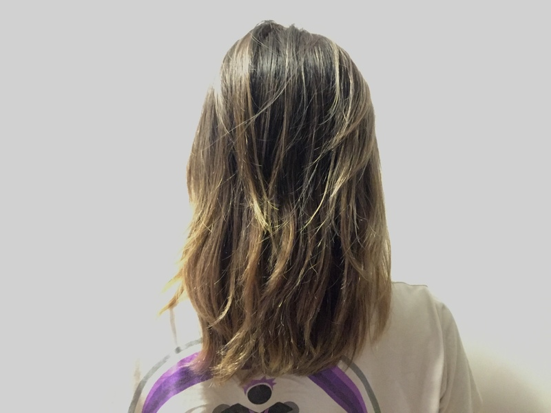 Faded Colour After 1 Month Getting Lavender Babylights at 99 Percent Hair Studio