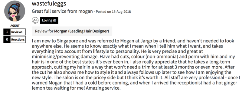 Customer Review of Hair Colour by The Urban Aesthetics