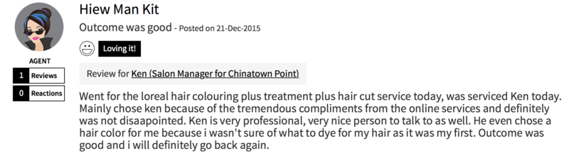 Customer Review of Hair Colour at Focus Hairdressing