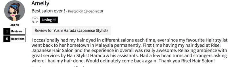 Customer Review of Hair Colour by Risel