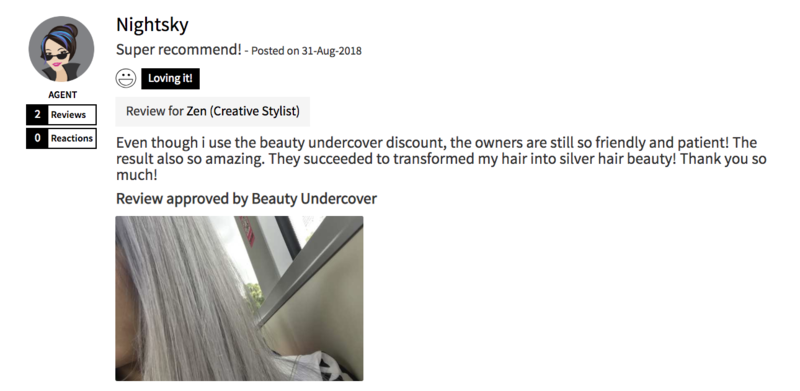 Customer Review of Hair Colour by Mane Made