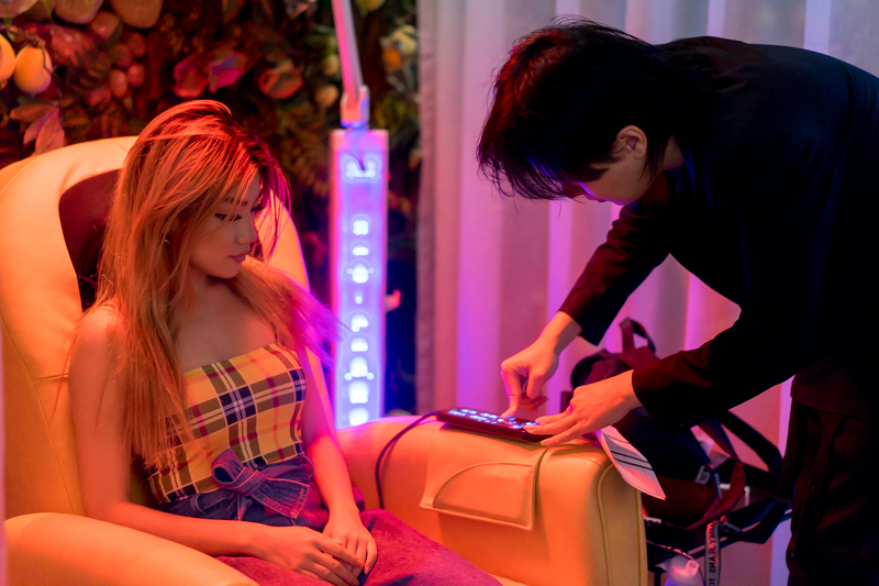 Complimentary Red Scalp Laser at Chez Vous Hideaway