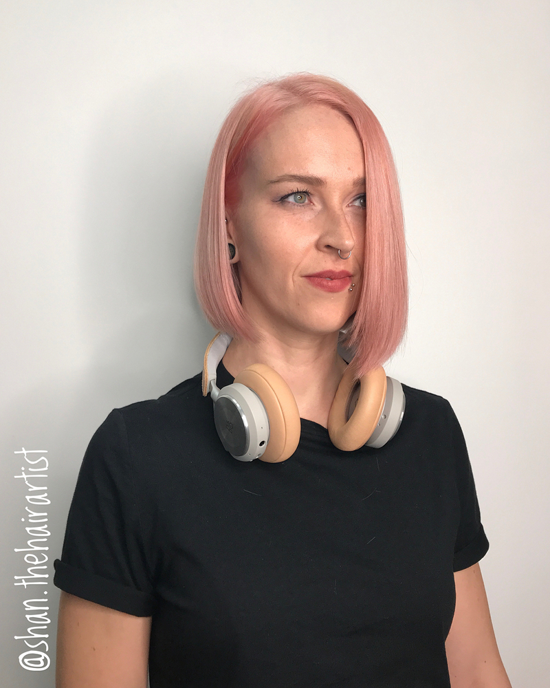 Pastel Pink Hair Colour by Shan from 99 Percent