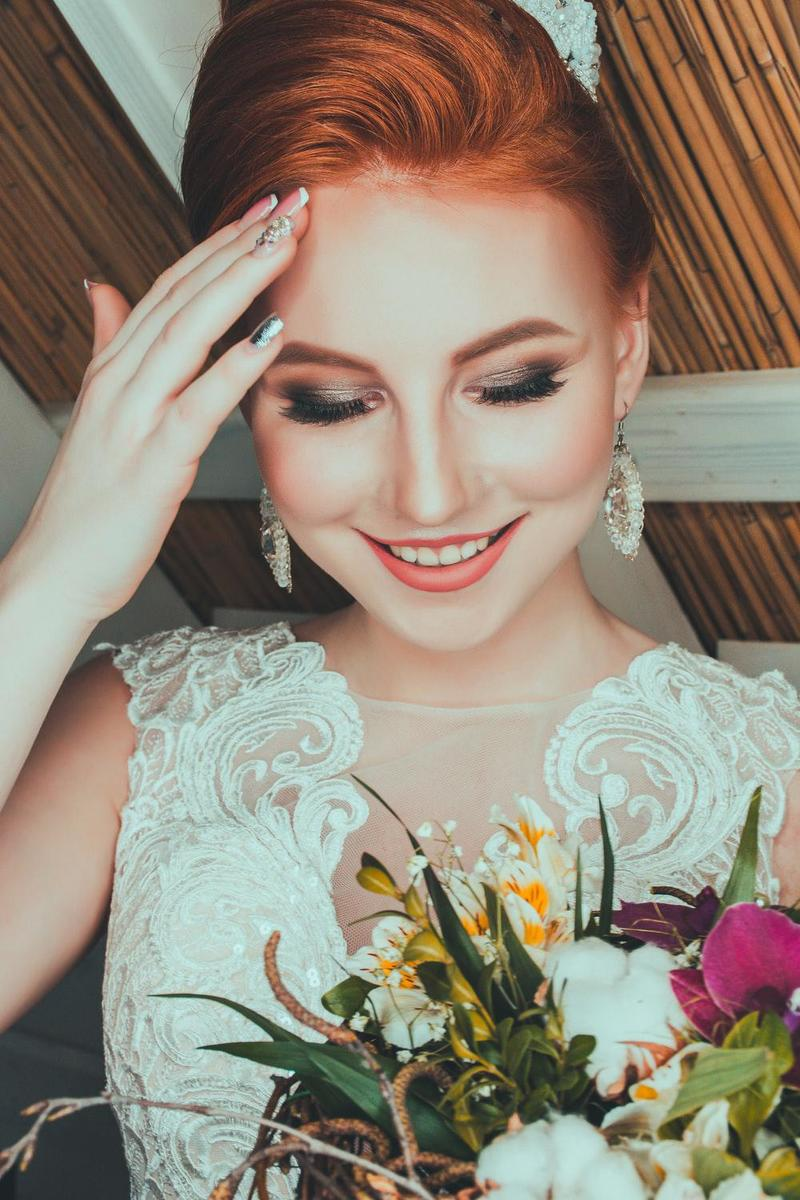 Makeup and Styling For Wedding Photoshoot by Chiho at Fluxus House