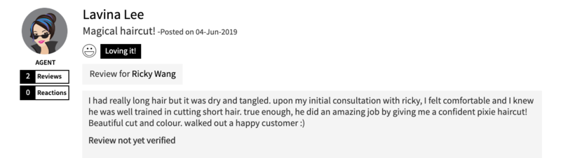 Haircut Review of The Bund AMK