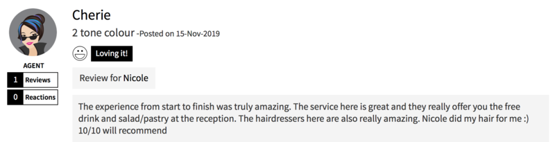 Customer Review of Hair Colour by Walking on Sunshine
