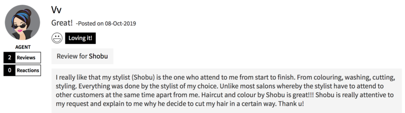 Customer Review of Hair Colour at Finder by COVO