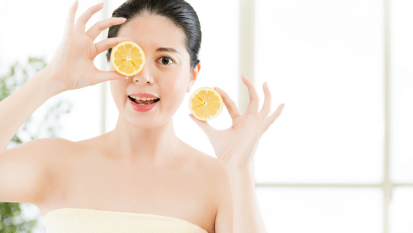 Apply vitamin c to fight against sun damage