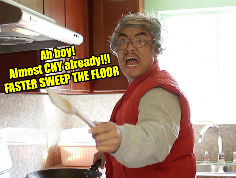 Spring Cleaning Before CNY Meme
