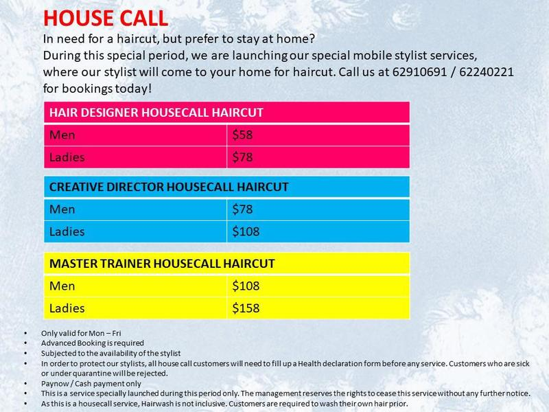 House Call Haircut by Picasso Hair Studio
