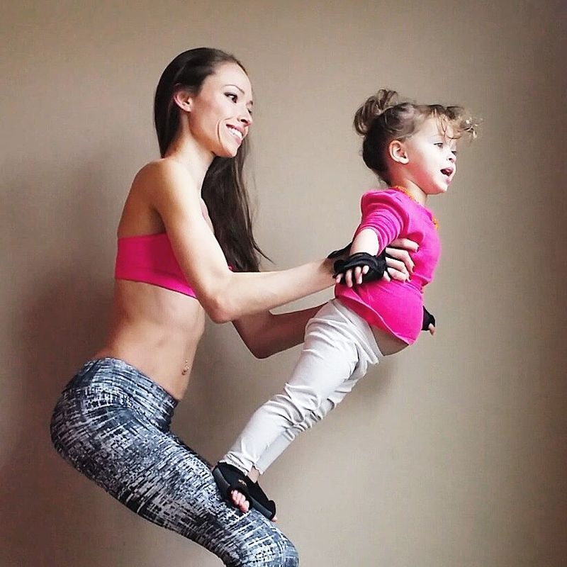 Acro Yoga Pose for Parents and Kids