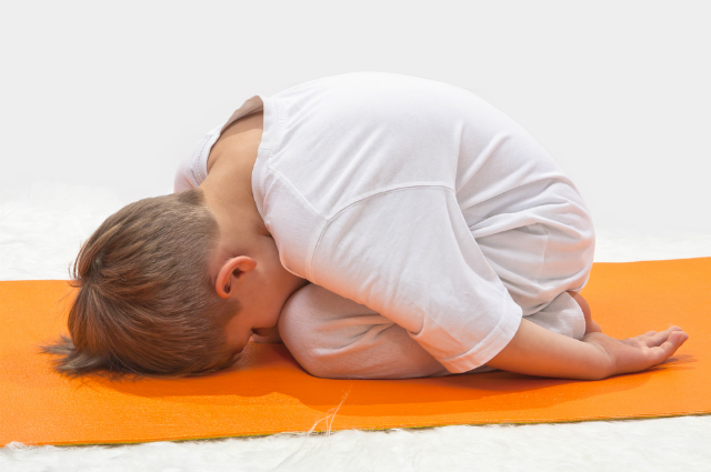 Yoga Puppy Pose For Kids