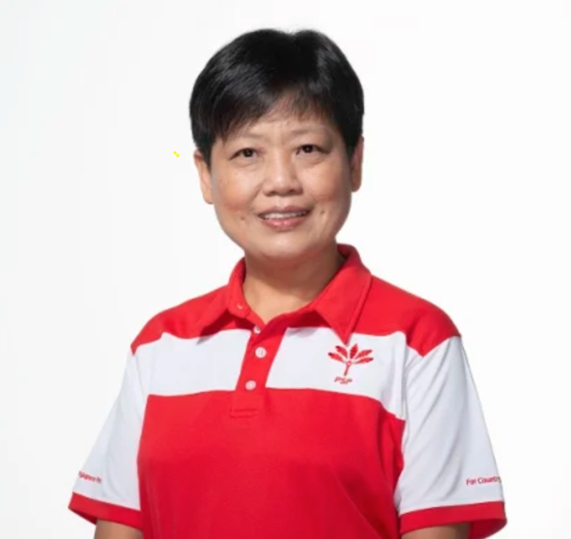 Singapore Politician Hairstyle Gigene Wong from Progress Singapore Party Pixie Haircut