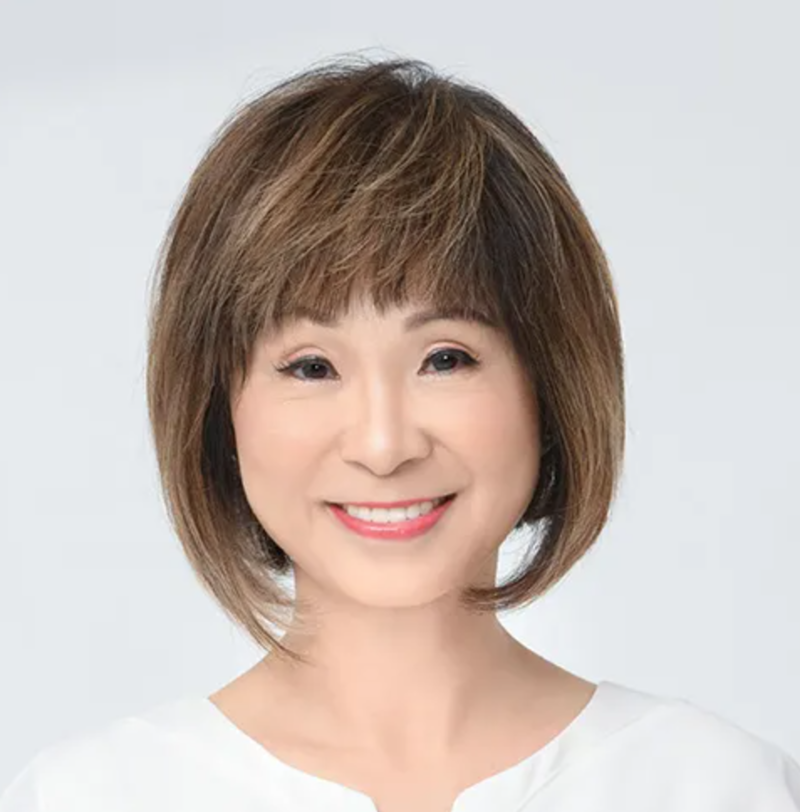 Singapore Politican Hairstyle Medium Length Bob Amy Khor from People's Action Party