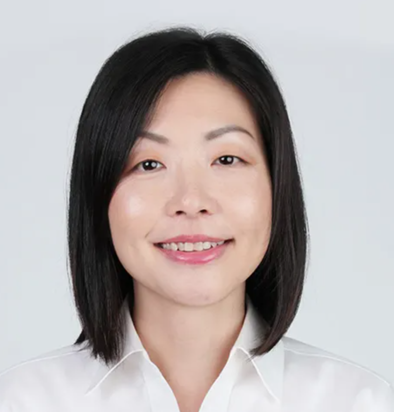 Straight Lob Haircut of Singapore Politician Cheryl Chan from People's Action Party