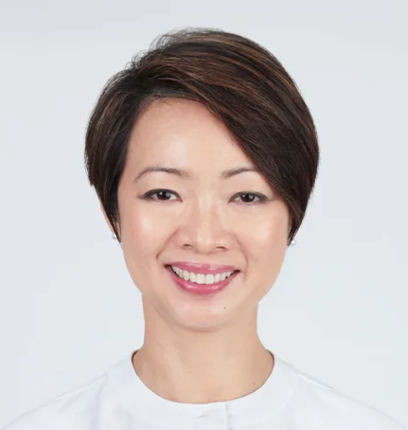 Short Pixie Haircut of Singapore Politician Hairstyle Foo Mee Har from People's Action Party