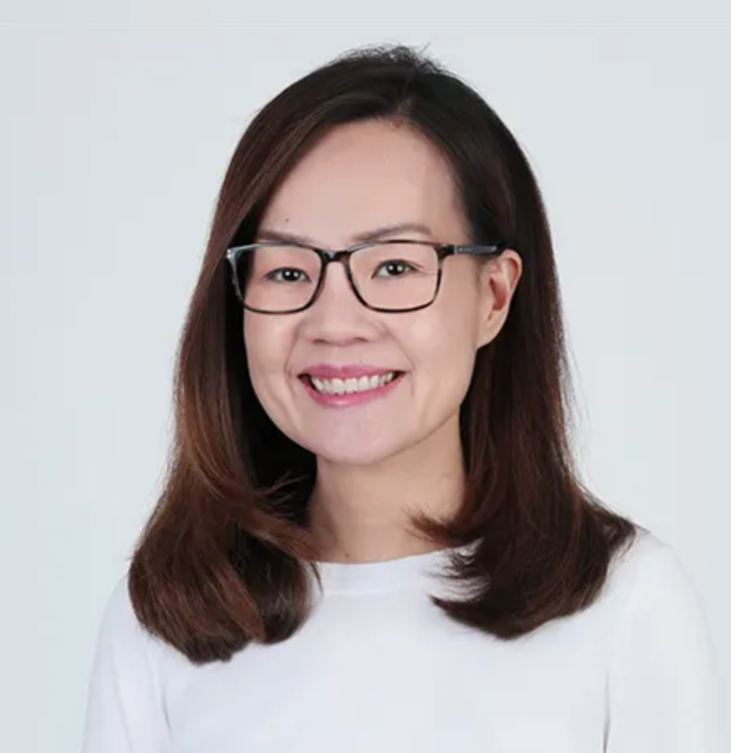 Singapore Politician Rachel Ong from the PAP Hairstyle