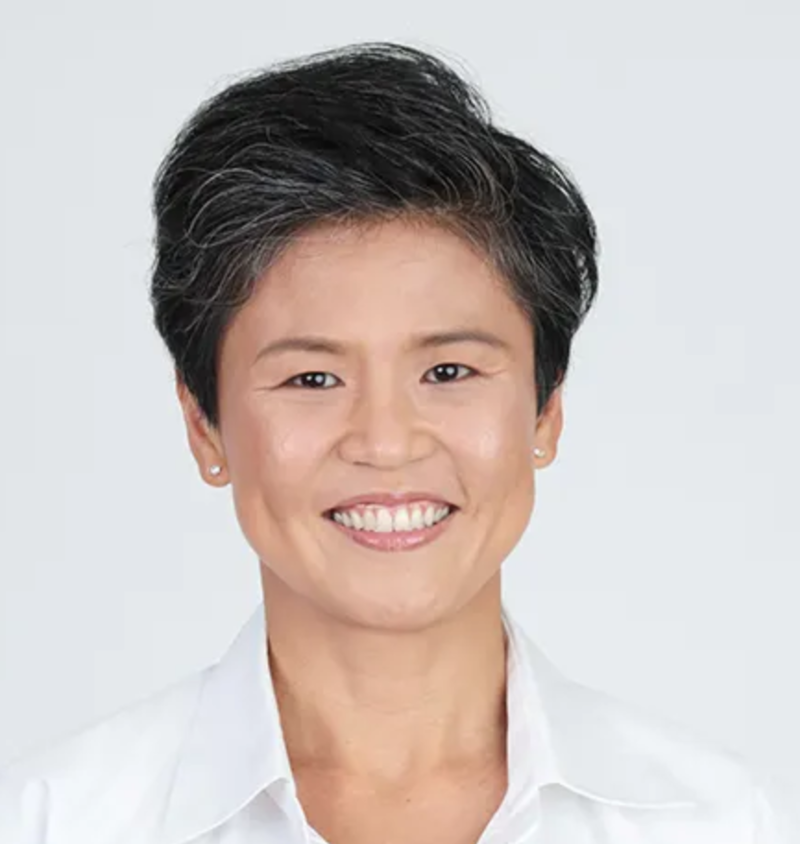 Short Hairstyle of Singapore Politician Poh Li San from People's Action Party