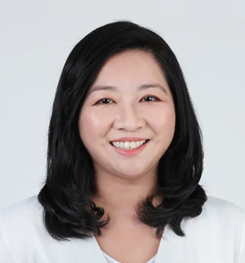 Singapore Politician Yeo Wan Ling from PAP Hairstyle
