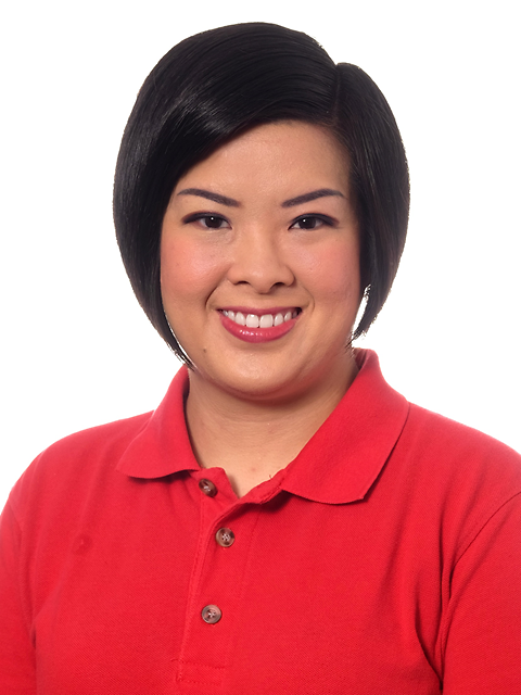Sleek Short Bob of On Min Cheong from the Singapore Democratic Party