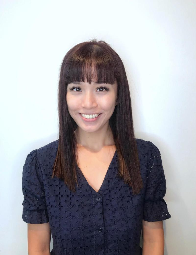 Straight Hair with Bangs by Do My Hair