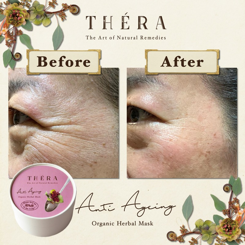 Anti-Aging Before and After Thera Herbal Facial at Organics Beauty