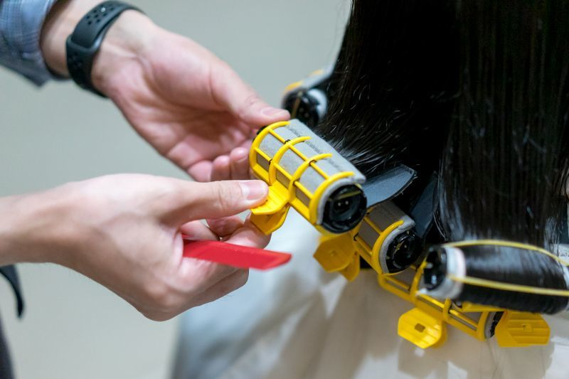 Low Heat and Low Damage Perm at Branche Hair Salon