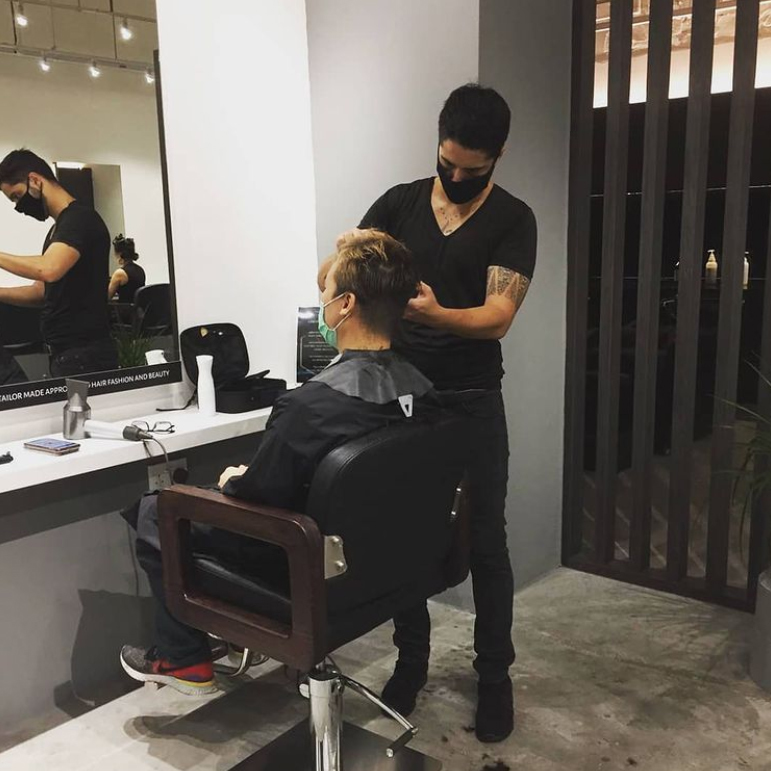 French Hair Stylist and Creative Director Anthony from Yann Beyrie