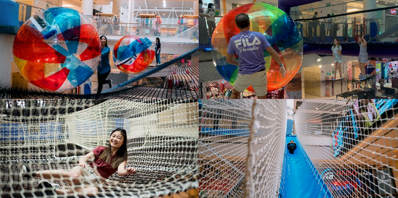 Fun Activity Airzone at City Square Mall
